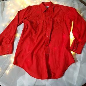California ranch wear shirt large 16/33